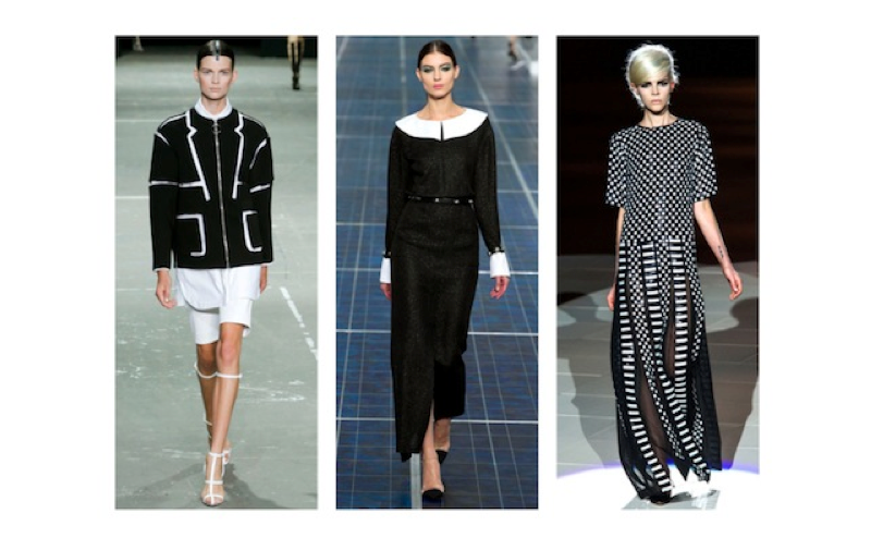 black and white spring 2013