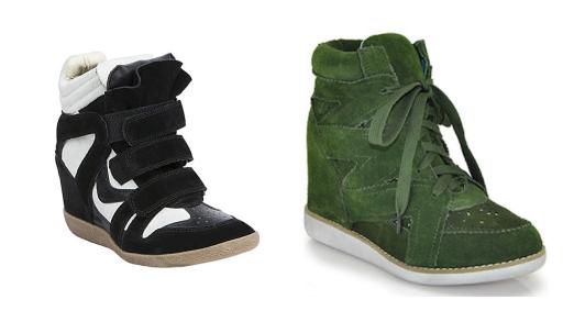 budget sneaker wedges
