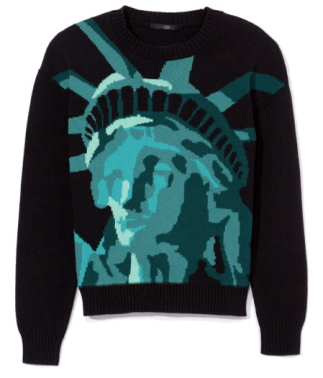 lady liberty sweater